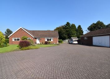 Thumbnail 4 bed detached bungalow for sale in The Paddocks, Bryn Road, Tondu, Bridgend