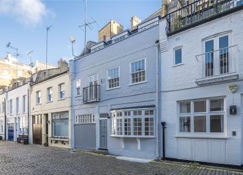 Thumbnail 4 bed mews house for sale in Manson Mews, London