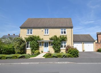 Thumbnail 4 bed detached house for sale in Casterbridge Road, Swindon, Wiltshire