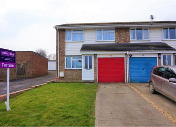 Thumbnail 3 bed end terrace house for sale in Marines Drive, Faringdon