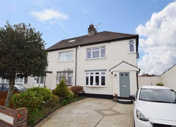 Thumbnail 3 bedroom semi-detached house for sale in Aragon Close, Southend-On-Sea