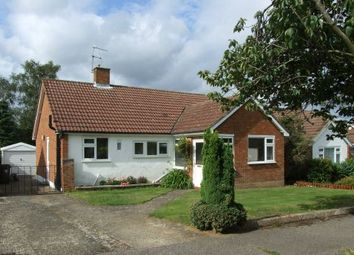 Thumbnail 3 bed detached bungalow to rent in Romans Way, Pyrford, Woking