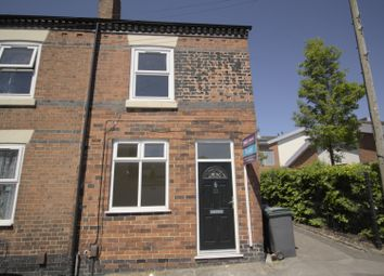 Thumbnail 2 bed end terrace house to rent in Woolrich Street, Stoke-On-Trent