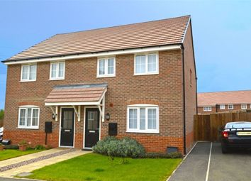 Thumbnail 3 bed semi-detached house to rent in Cowley Meadow Way, Crick, Northamptonshire