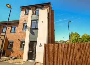 Thumbnail 4 bedroom town house for sale in Bewley Court, Hanley, Stoke-On-Trent