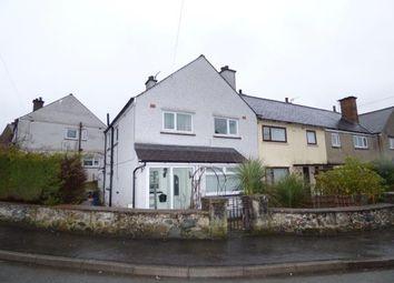 Thumbnail 3 bed end terrace house for sale in Glanogwen, Bethesda, Gwynedd