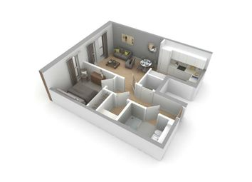 """Thumbnail 1 bed flat for sale in """"Type C"""" at Jordanhill, Glasgow"""