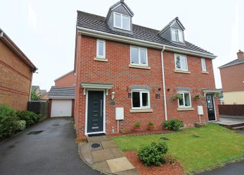 Thumbnail 3 bed semi-detached house for sale in Tulip Way, Leekbrook, Staffordshire