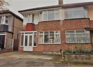Thumbnail 3 bed semi-detached house for sale in Walden Way, Ilford
