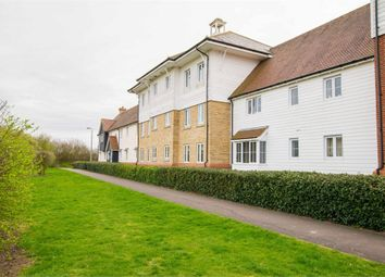 Thumbnail 2 bed flat for sale in Oxton Close, Rowhedge, Colchester, Essex