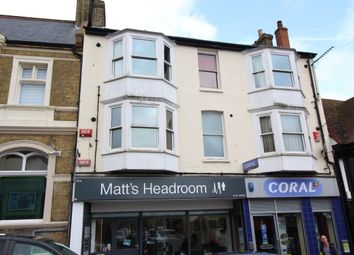 Thumbnail 1 bed flat to rent in Thanet Road, Broadstairs