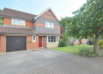 Thumbnail 4 bed detached house for sale in Brigland Close, Stukeley Meadows, Huntingdon, Cambridgeshire