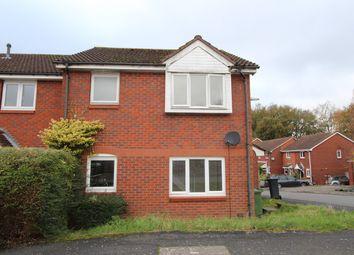 Thumbnail 1 bed end terrace house for sale in Devonshire Gardens, Bursledon, Southampton