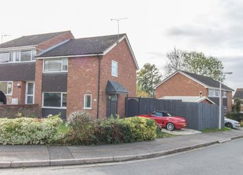 Thumbnail 3 bed semi-detached house for sale in Langdale Close, Rugby