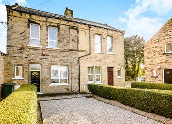 Thumbnail 3 bedroom end terrace house for sale in Scar Lane, Milnsbridge, Huddersfield