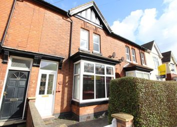 Thumbnail 3 bed terraced house to rent in Belvedere Road, Burton-On-Trent