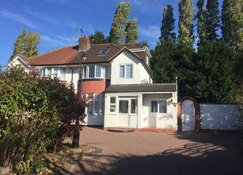 Thumbnail 4 bed semi-detached house for sale in Wells Green Road, Solihull