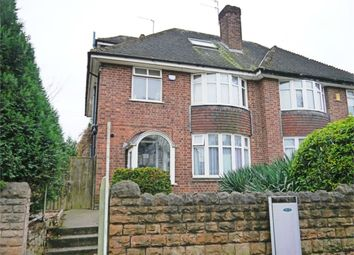 Thumbnail 5 bed semi-detached house to rent in Waverley Street, Nottingham