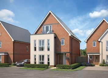 "Thumbnail 4 bed property for sale in ""The Hampton"" at Hornbeam Place, Arborfield, Reading"