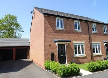 Thumbnail 3 bed semi-detached house for sale in Lime Avenue, Sapcote, Leicester