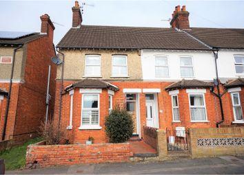 Thumbnail 2 bed end terrace house for sale in Park Road, Aldershot
