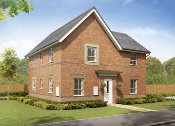 "Thumbnail 4 bedroom detached house for sale in ""Alderney"" at Crewe Road, Shavington, Crewe"