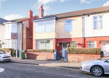 Thumbnail 3 bed terraced house for sale in Buckingham Avenue, Prenton