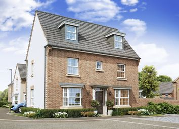 "Thumbnail 4 bed detached house for sale in ""Hertford"" at Northern Way, Bury St Edmunds, Bury St Edmunds"