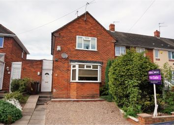 Thumbnail 2 bedroom end terrace house for sale in Townson Road, Wolverhampton