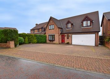 Thumbnail 4 bed detached house for sale in Church Park, Wheatley Hill, County Durham
