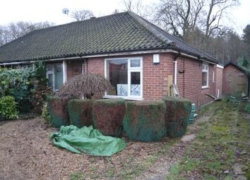 Thumbnail 3 bed semi-detached bungalow for sale in Greenborough Road, Sprowston, Norwich