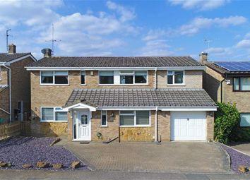 Thumbnail 5 bed detached house for sale in Glebe Road, Cogenhoe, Northampton