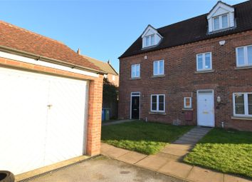Thumbnail 4 bedroom town house for sale in Leicester Crescent, Worksop