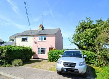 Thumbnail 3 bed semi-detached house for sale in Broad Road, Thurlow, Haverhill