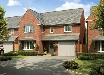 """Thumbnail 4 bedroom detached house for sale in """"Halesowen"""" at Church Road, Webheath, Redditch"""