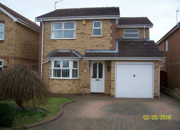Thumbnail 3 bed detached house to rent in Long Field Drive, Edenthorpe, Doncaster