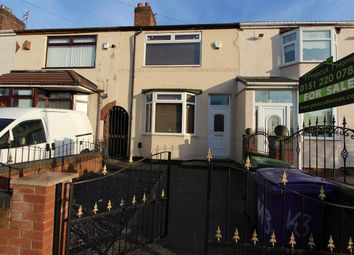 Thumbnail 2 bedroom terraced house for sale in Max Road, Dovecot, Liverpool