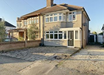 Thumbnail 3 bed semi-detached house for sale in Benhurst Avenue, Elm Park, Hornchurch