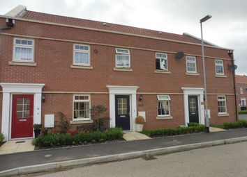 Thumbnail 3 bed terraced house for sale in Racecourse Road, Barleythorpe, Oakham