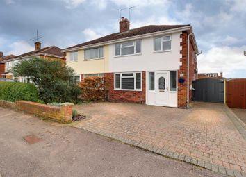 Thumbnail 3 bed semi-detached house for sale in Canterbury Walk, Leckhampton, Cheltenham