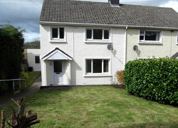Thumbnail 3 bed semi-detached house for sale in Danyrhelyg, Newcastle Emlyn, Carmarthenshire, West Wales