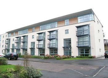 Thumbnail 2 bed flat to rent in North Werber Road, Edinburgh