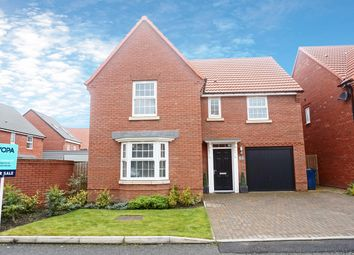 Thumbnail 4 bed detached house for sale in Thorncliffe Close, Washington