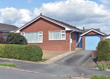 Thumbnail 2 bed detached bungalow for sale in Holcombe Drive, Llandrindod Wells