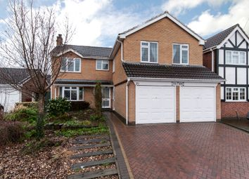 Thumbnail 4 bed detached house for sale in Campion Hill, Castle Donington, Derby