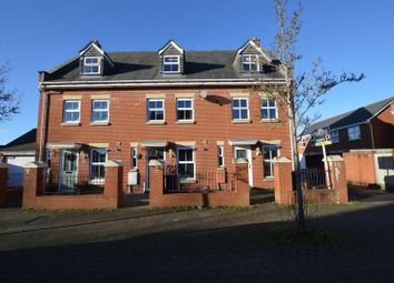 Thumbnail 3 bed town house for sale in Vale Mill Way, Weston-Super-Mare