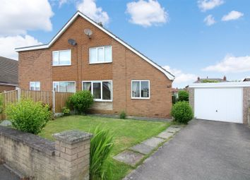 Thumbnail 2 bedroom semi-detached house for sale in King Edward Avenue, Allerton Bywater, Castleford