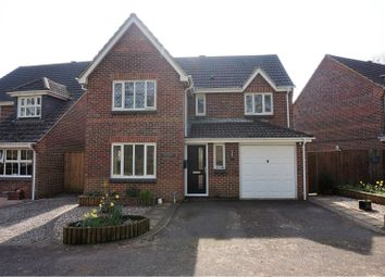 Thumbnail 4 bed detached house for sale in Newmarket Close, Horton Heath