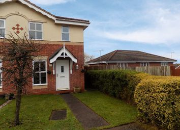 Thumbnail 2 bed semi-detached house to rent in Padstow Drive, Stafford