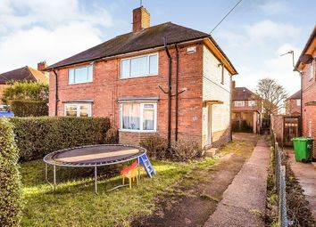 Thumbnail 3 bed semi-detached house for sale in Westleigh Road, Nottingham
